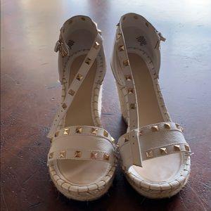 Marc Fisher espadrille wedge sandals
